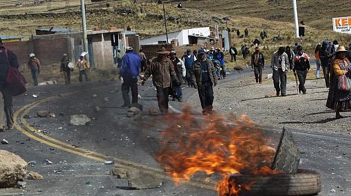 Peru yol kesme eylemi
