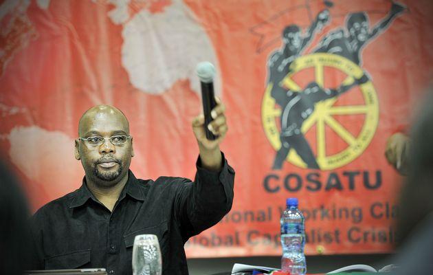 Cosatu Başkanı Sidumo Dlamini