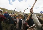 Madenlere karşı yapılan eylem