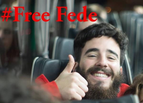 18 Mar'ta tutuklanan Federico