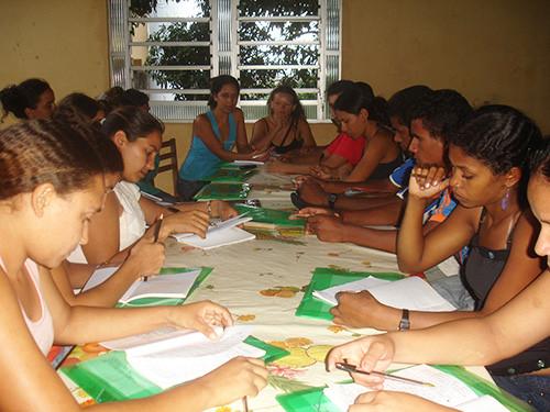 Okuma-yazma Öğretmenliği üzerine bir kurs - Maranhão.