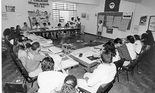 political eduction in the 80s