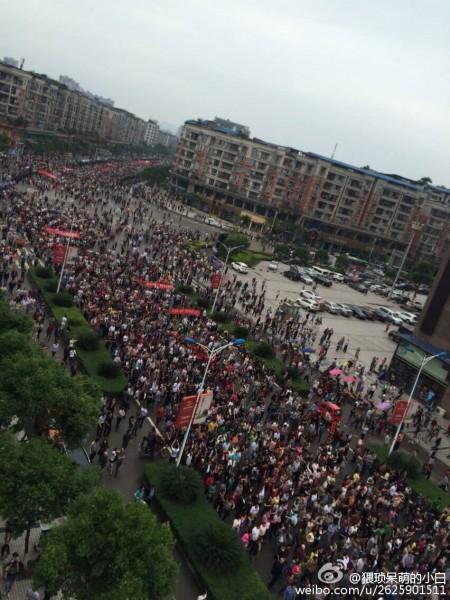 Çin: Linshui'de Yoğunlaşan Devlet Baskısına Karşı Kitlesel Direniş