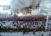 İran: Mahabad'da Serhîldan Ateşini Ferinaz Xosrowani Yaktı