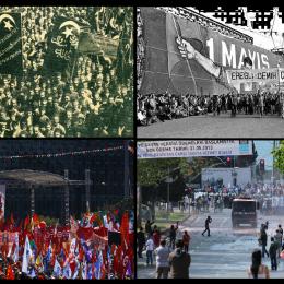 Geçmişten Günümüze, Türkiye'de 1 Mayıs...
