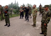 Lugansk: Düşen İki Hayalet Tugayı Savaşçısı Törenle Anıldı