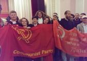 Ukrayna'da Antifaşist Direniş ile Dayanışma Forumu Yapıldı