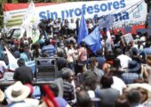 1 Haziran 2015 tarihinde Öğretmenler hükümet tasarısını protesto etti| Fotoğraf: EFE