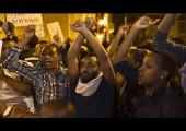 İsrail'deki Etiyopyalılar bir protesto gösterisinde