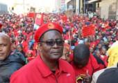 Johannesburg'da Binlerce metal işçisi grevde 2014 Demotix / Haberci
