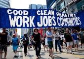 Kanada: Binlerce İnsan Yeşil İş İçin Yürüdü