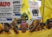 Kosta Rika: Binlerce İşçi, Maaşlarına Zam İstedi