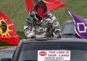 """Kanada: Yerli Savaşçı Topluluklar, """"Hayır"""" Gitmeyecekler"""