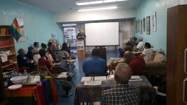 23 Temmuz'da Los Angeles'da düzenlenen Soğuk Savaş Forumu'ndan bir kare Fotoğraf: Sekou Parker