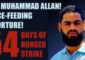 Filistinli Açlık Grevcisi Muhammad Allan Zorla Besleme Yöntemi İle Tehdit ediliyor