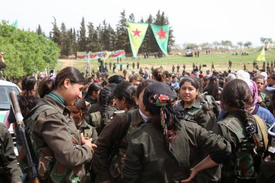 Kürt kadın savaşçılar