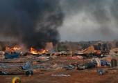 Fas kuvvetleri Batı Sahra sığınmacılarının kaldığı kamptaki binlerce çadırı söktü. | Fotoğraf: Dosya / AFP
