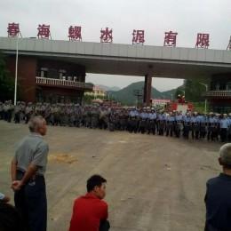 Çin: Guangdong'da Çöp Yakma Tesisine Şiddetli Direniş 4. Gününde