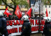 Almanya: Aşırı Sağcı Kongreyi Engellemeye Çalışan 125 Solcuya Tutuklama