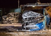 Almanya: Kara Aralık için Suzuki Bayisine Saldırı Eylemi