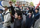 Japonya: Komünist 'Kaybeden Devrimciler İttifakı' Noel-Karşıtı Protesto Düzenledi