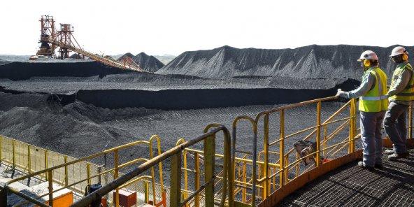 Brezilyalı Vale S.A.'nın Zambiya'daki kömür işletmesi.
