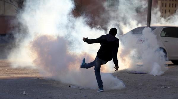 14 Şubat 2016 / Güney Manama'da bir protestocu