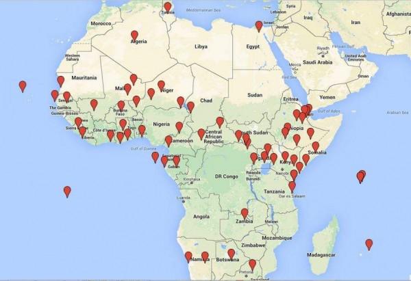 afrika ulkesi gongo