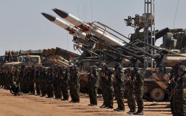 Massina Benlakehal MEE Western Sahara military parade a