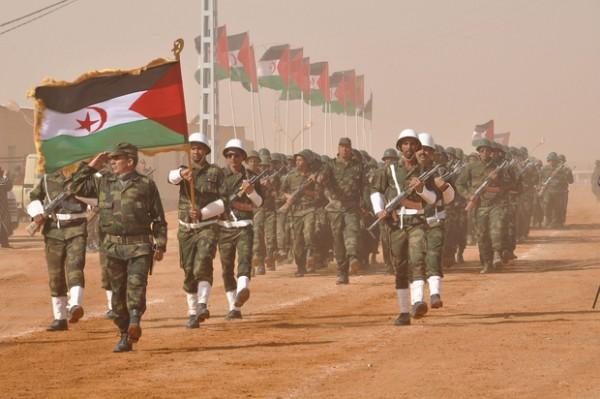 Massina Benlakehal MEE Western Sahara military parade b