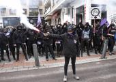 İspanya: Kadınlar Erkek Şiddetine Karşı Sokağa Çıktı