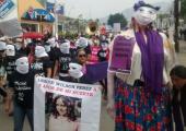 Kadınlar, Meksika'da 42 Şehirde Sokağa Çıktı