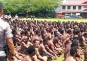 İki Bin Batı Papualı Eylemci Gözaltında
