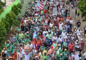Porto Riko: Binlerce Kişi Oscar Lopez'e Özgürlük İçin Yürüdü
