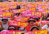 Güney Kore: ABD Füze Sistemine Karşı İsyan Eden Köylüler Başbakanı Alıkoydular