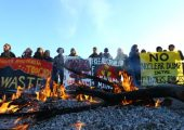 Avustralya: Çöl Kurtuluş Cephesi'nden Uranyum Madeni Protestosu