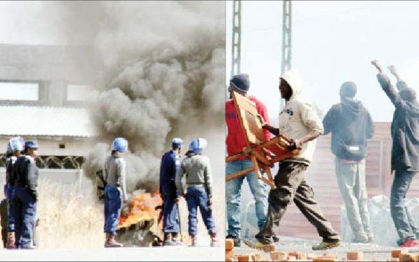 Harare-protests