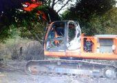 Arjantin: Mapuçeler İki İş Makinasını Ateşe Verdi