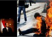 Mısır: Taksi Şoförü Hayat Pahalılığını Protesto Ederek, Bedenini Ateşe Verdi