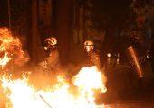 Yunanistan: Obama'yı Protesto Eden Binler Polisle Çatıştı