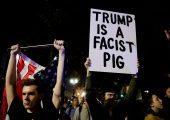 ABD: Seçimden Sonra Anti-Faşistler Sokaklardaydı