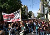 Yunanistan ve Fransa'da Militan Lise Öğrencilerinin Protestoları