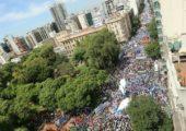 Arjantin'de Öğretmen Grevi