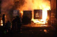 Şili: Mapuçeler 19 Kamyonu Ateşe Verdi
