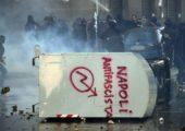 İtalya: Napoli'de Antifa Yürüyüşü