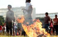Brezilya Yerlileri Toprakları İçin Direnişe Geçti [Foto Haber]