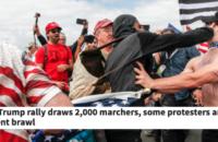 ABD: Antifa Faşistlere Berkeley'de Geçit Vermiyor [Foto Haber]