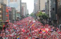 Venezuela: Devasa Anti-Emperyalist Yürüyüş, Milis Sayısı 500.000'e Çıkarılıyor