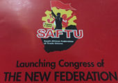Güney Afrika: Numsa ve Saftu 1 Mayıs'ta Omuz Omuza