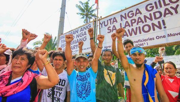 Filipinler: Tarım Reformu Kapsamında 145 Hektar Toprak LFC Şirketinden Alınarak Topraksız Kır İşçilerine Verildi
